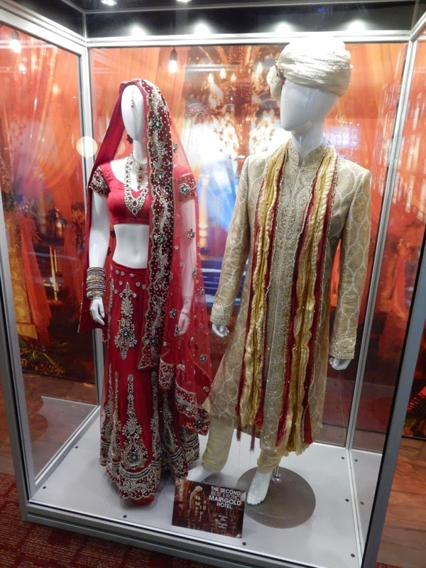 Indian Wedding costumes Second Best Exotic Marigold Hotel