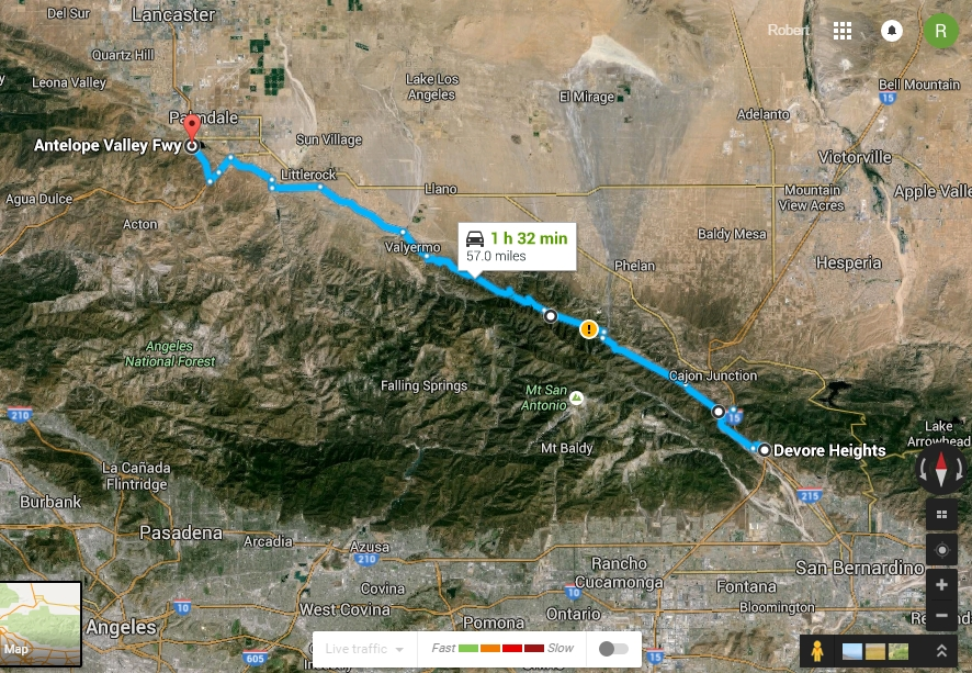 The San Andreas I To I Roc Doc Travel - Map of san andreas fault line