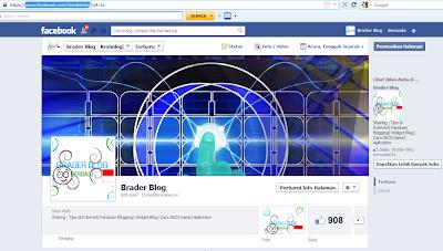 Alamat halaman Fanspage Facebook