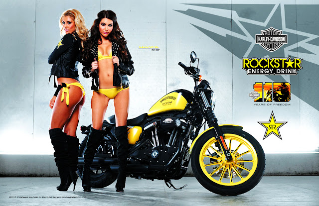 Rockstar Energy Công bố Harley-Davidson Iron 883 Sweepstake