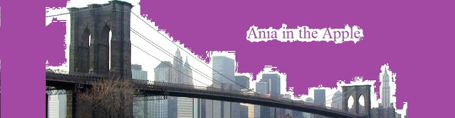 ania moves to the big apple