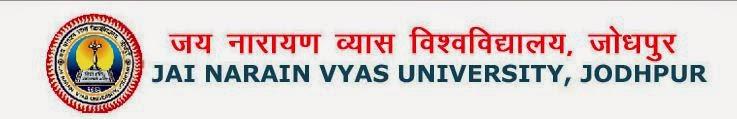JNVU Jodhpur BA, B.Sc., B.Com., BCA Result 2014