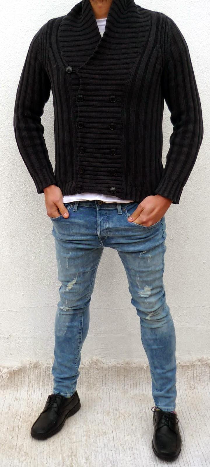pantalon pitillo hombre