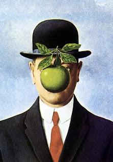 Homem e Maça, René Magritte