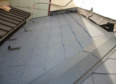 川崎市 中原区 屋根工事 仕上がり コロニアル 棟板金