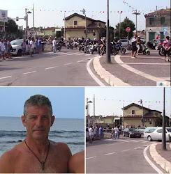 CINQUANTA MOTOCICLISTI PER L'ULTIMO