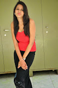 Swetha Jadhav glam pics in red top-thumbnail-18