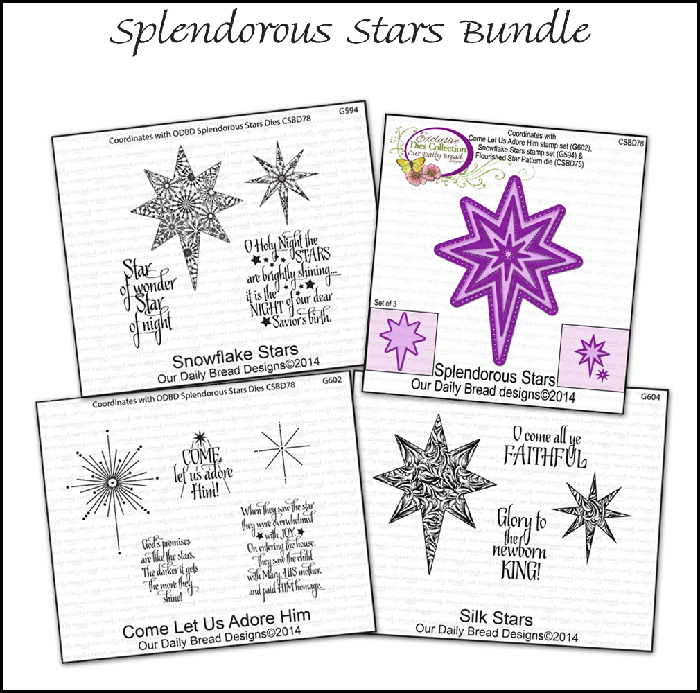 Our Daily Bread Designs Splendorous Stars Bundle
