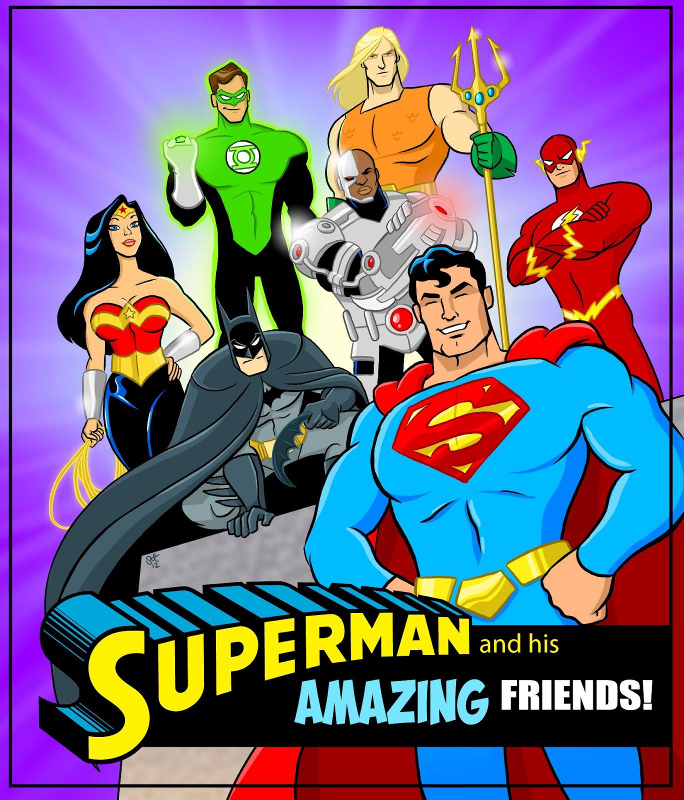 Süperman Dostları Oyunu
