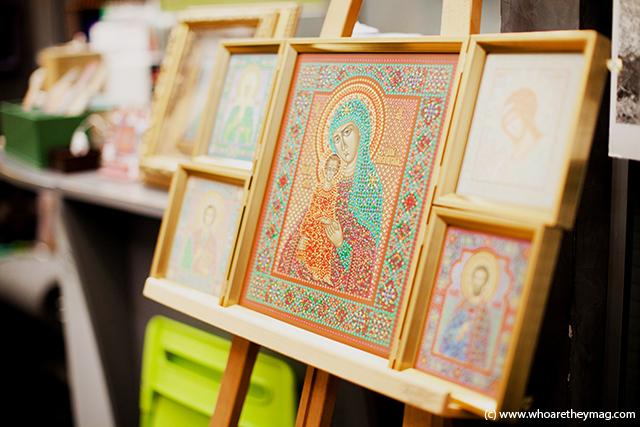 Образ Богородицы: иконописец Юрий Кузнецов