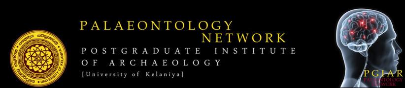 Paleontology Network PGAIR Sri Lanka