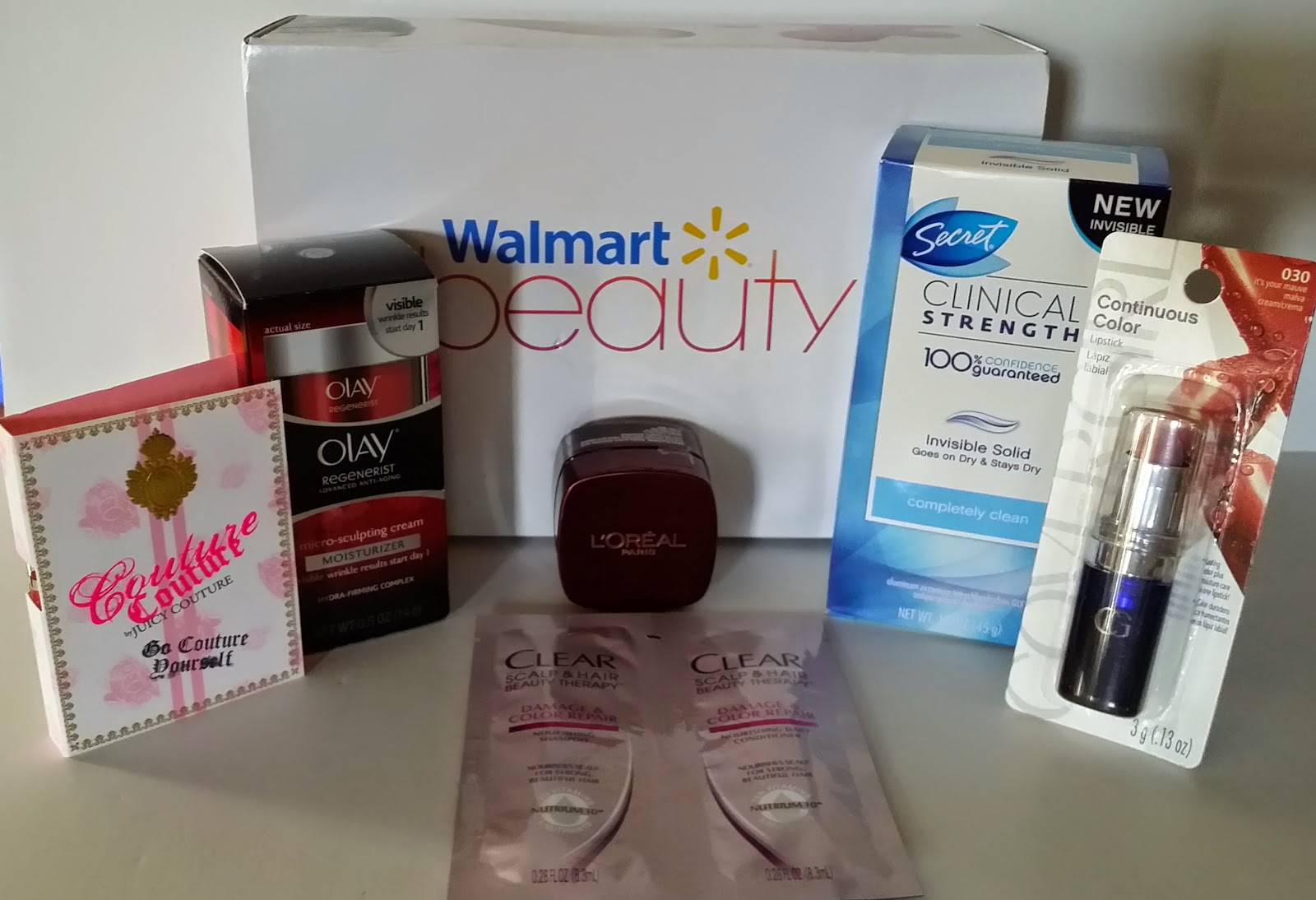 Walmart Beauty Box Review Fall 2014   iMonthly~Subscribe