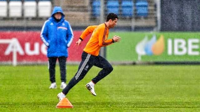 رونالدو جاهز لللمباراة ضد بايرن ميونخ