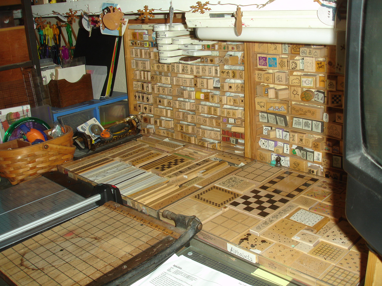 Basket Weaving Osi : Frugal measures reorganizing stamp room