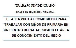 Taller telekids producciones libros y documentos for Oficina virtual medio rural