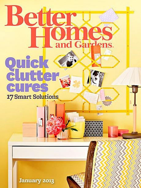 Better Homes And Gardens Magazine 2013 January 2013 better homes