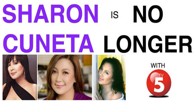 Sharon Cuneta Broke the News that She is No Longer with TV5