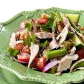 TUNA, CUCUMBER AND ONION SALAD