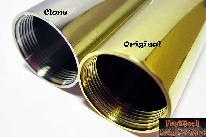 Caravela clone tube threads comparison to original caravela