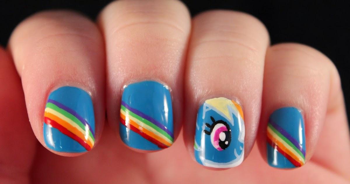 Modern My Little Pony Nail Designs Gallery - Nail Art Ideas ...