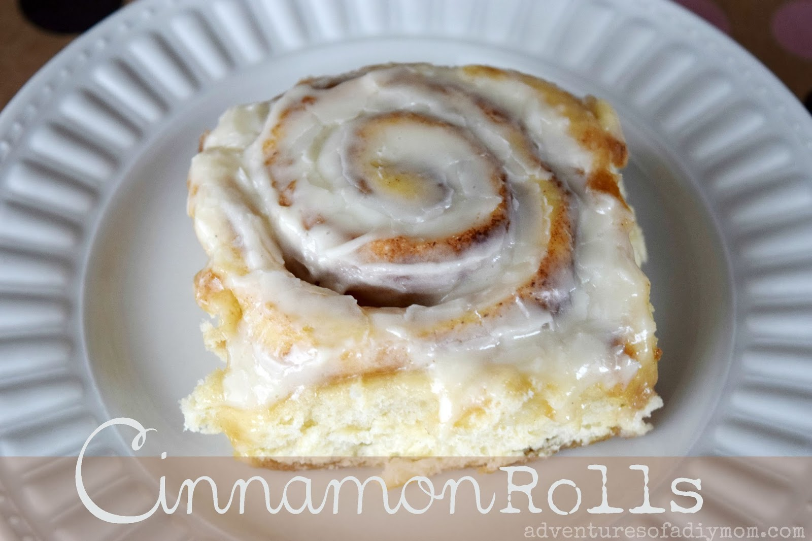 how to make dough without yeast for cinnamon rolls