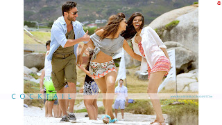Cocktail HD High Resolution  Wallpapers - featuring Saif Ali Khan, Deepika Padukone and Hot Diana Penty