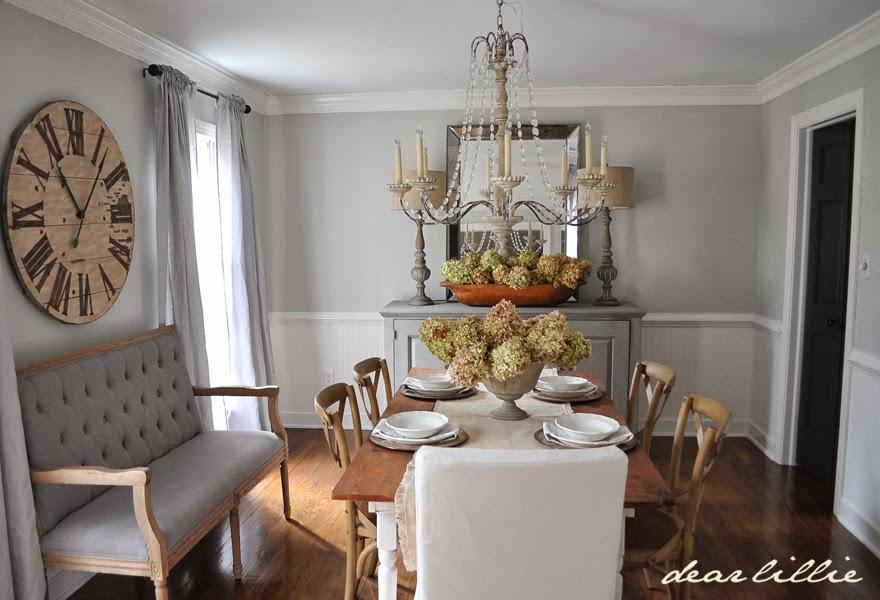 dear lillie updated dining room. Black Bedroom Furniture Sets. Home Design Ideas