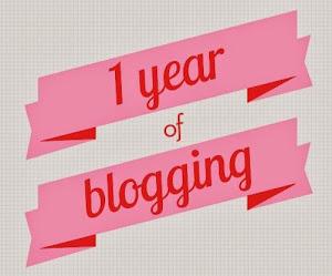 سنة كاملة من التدوين ..