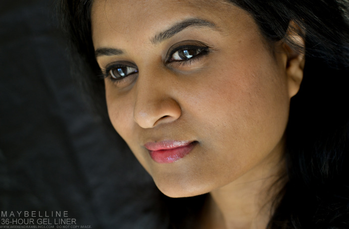 Maybelline India Eye Studio Lasting Drama Gel Eyeliner Black 36 Hours Review Photos Swatches Makeup Looks FOTD Beauty Blog