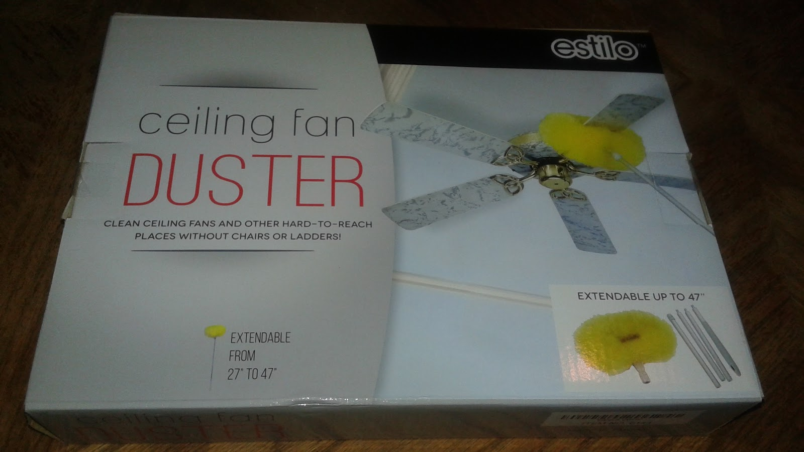 ceiling fan duster with extension pole. i\u0027m sure many of my readers can relate to this situation. so when i got the opportunity try estilo ceiling fan duster was excited! with extension pole h