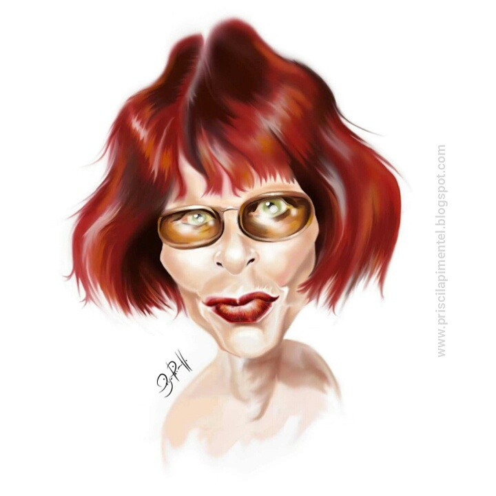 Rita Lee _caricatura digital