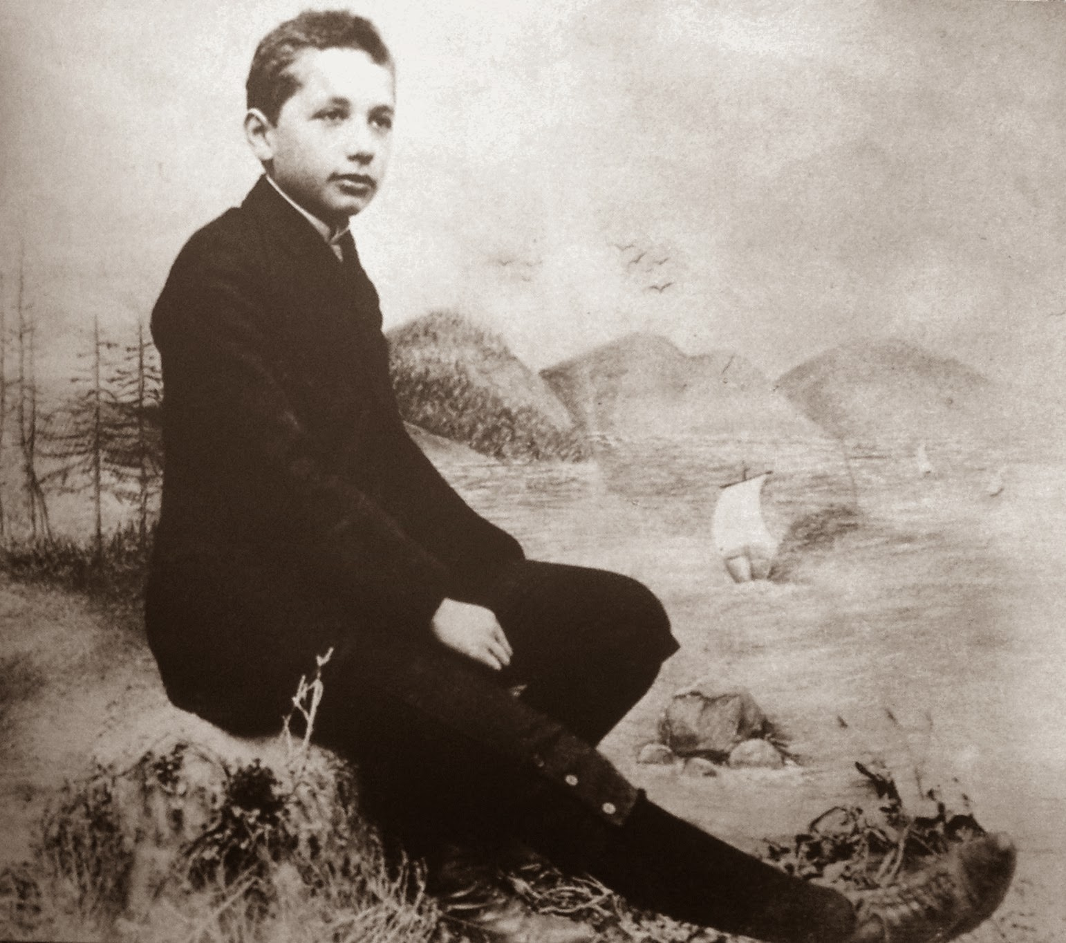 school project works short eassy on albert einstein the great albert einstein clildhood photo on rock