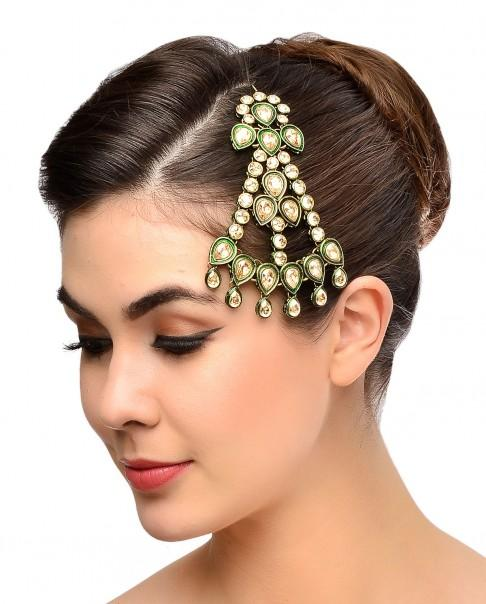 Bridal Jewellery Shopping Inspiration - Mughal Era Bridal Collection Via Purab Paschim by Ankit Khular