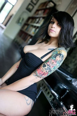 Women Sexy Body Tattoos