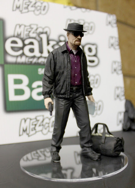 "Toy Fair 2013 - Mezco - Breaking Bad - Walter White as ""Heisenberg"" figure"