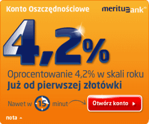 rachunek oszczdnociowy Meritum Bank 2013