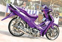 Gambar Motor Suzuki Shogun Modif