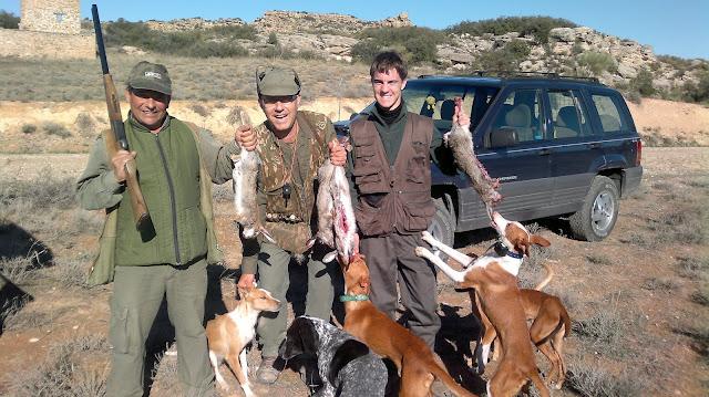 Jornada de caza conejo