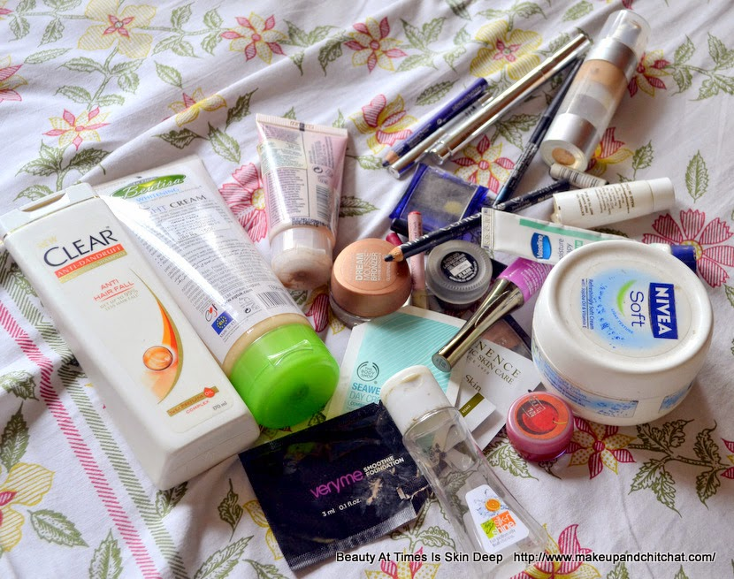 Makeup declutter march 2015