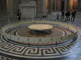 Debunking the Spinning Ball Earth Pendule_de_Foucault