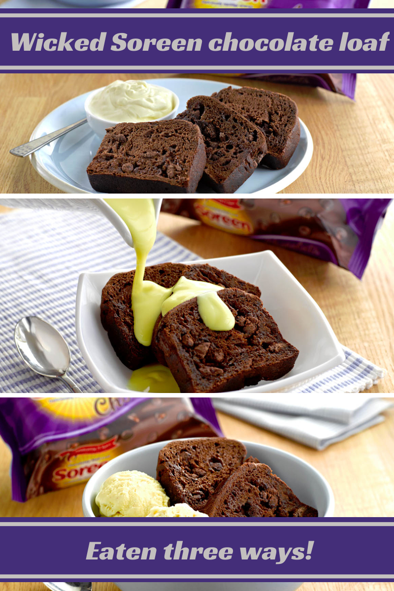 Wicked Soreen chocolate loaf eaten three ways