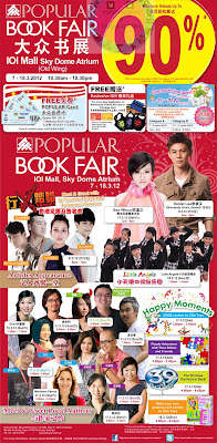 Popular Book Fair IOI Mall