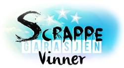 Jeg vant hos Scrappegarasjen !!
