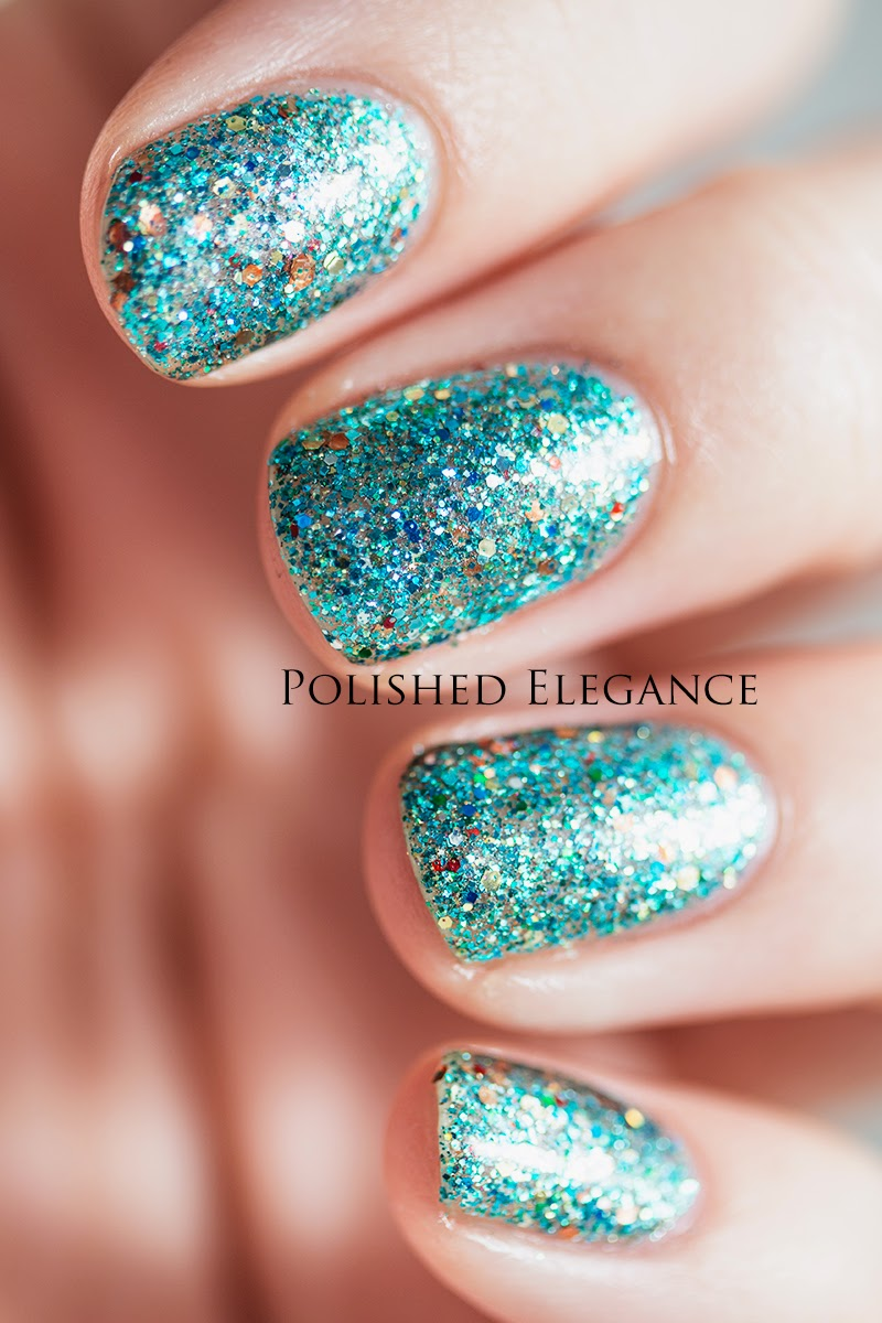 Shimmer Polish - Jasmine swatch review
