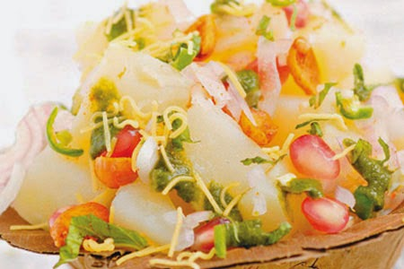 Aloo Anardana Chaat
