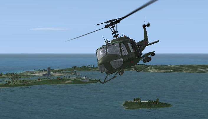 Elicottero Uh 1 : Fs telechargement bell uh huey helicopter