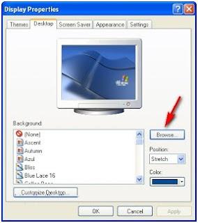 Cara menggunakan video menjadi wallpaper windows xp