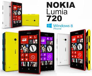 Harga terbaru dan spesifikasi dari Nokia Lumia 720