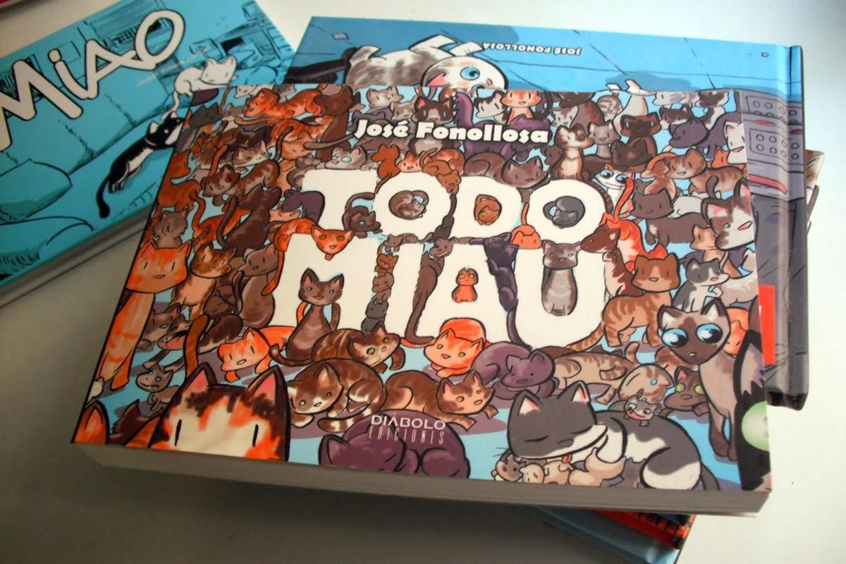 AQUI PUEDES COMPRAR EL LIBRO TODO MIAU