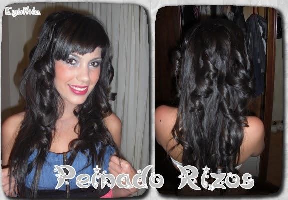Peinados cynthia del sur varios peinados con diferentes rizos - Peinados de fiesta con rizos ...